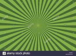 two shades of green stripes radiating outward from centerpoint