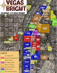 Las Vegas Maps The Strip Map U2022 Vegas Bright