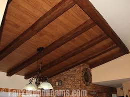 Ceiling Treatment Ideas by Ceiling Treatments With Beams U0026 Panels Faux Wood Workshop
