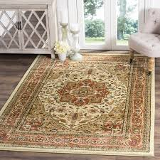 Rust Area Rug Safavieh Lyndhurst Traditional Ivory Rust Area Rug 8 X