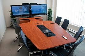 Interactive Meeting Table Vc Conference Room Special Aavidps