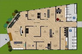 Art Gallery Floor Plan by Public Space U2013 Rendered Spaces