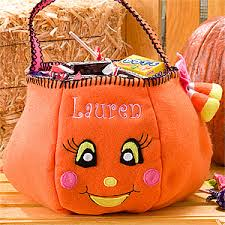 personalized embroidered trick or treat bags halloween clearance deal