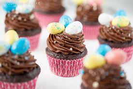 Easter Egg Cupcake Decorations by Chocolate Whopper Egg Cupcakes Your Cup Of Cake