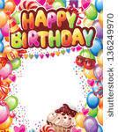 Border Designs For Birthday Cards Happy Birthday Design Elements Free Vector 06 Vector Birthday