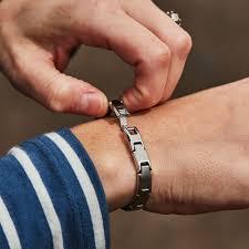 bracelet magnetic wrist images Slimline silver titancore titanium magnetic bracelet infinityprosea jpg