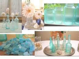 sea glass centerpieces
