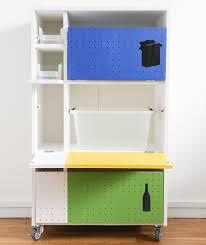 meuble cache poubelle cuisine meuble rangement tri selectif jpg