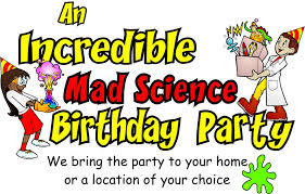 kids birthday party shows mad science bay area