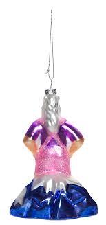 lederhosen unicorn glass ornament sourpuss clothing