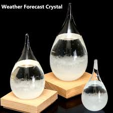 Home Decor Nz Tempo Storm Glass Drop Weather Forecast Water Drops Shape Crystal