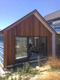 Two Barns House Little Black Barn House Cedar Cladding Black Cladding Nz