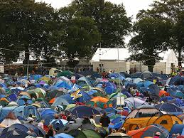 t in the park investigate of at festival
