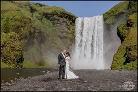 iceland wedding venues skogafoss waterfall wedding photos iceland wedding photographer