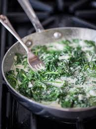 5 ingredient stovetop creamed spinach recipe