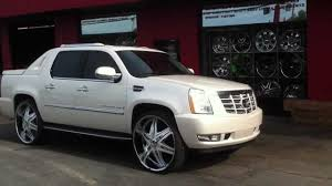 cadillac truck cadillac escalade truck with rims wallpaper 1280x720 5654