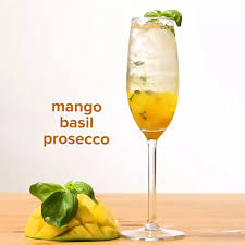 mango mojito recipe mango and basil prosecco recipe by tasty
