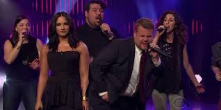 james corden and demi lovato had an a cappella diva off singing james corden and demi lovato had an a cappella diva off singing songs from tina turner cher and adele and yeah you need to see this one country