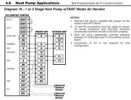 wiring between trane xl824 tem6 and xr17 doityourself com