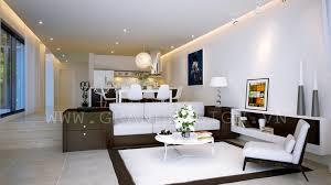 flat design ideas open plan apartment interior design ideas
