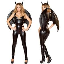 online get cheap black leather halloween costumes aliexpress com