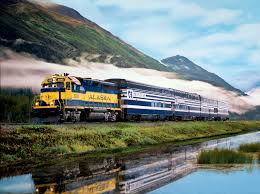 Alaska Railroad Map by Princess Rail Tours Train From Anchorage To Fairbanks