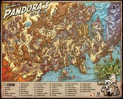 maps of the borderlands borderlands gaming and video games