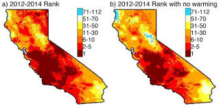 california map drought global warming makes california drought worse earth earthsky