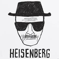 heisenberg drawing drawing of walter white dressed as hisenberg