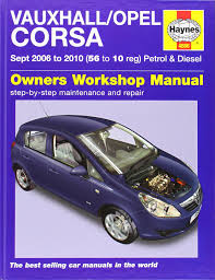 vauxhall opel corsa petrol and diesel service and repair manual