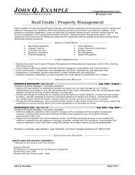 Resume Entry Level Examples by Real Estate Resume Entry Level Real Estate Resume Sample John Q