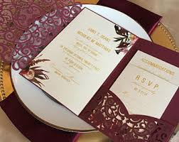 wedding invitations etsy wedding invitations etsy in