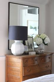 Bedroom Dresser With Mirror by Best 25 Oak Dresser Ideas On Pinterest Black Painted Dressers