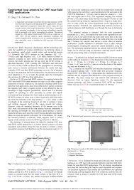 segmented loop antenna for uhf near field rfid applications pdf