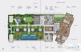 Hawaii Floor Plans Hughes Waiea At 1118 Ala Moana