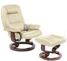 Reclining Leather Armchair Appealing Reclining Chair And Ottoman With Ekornes Stressless City