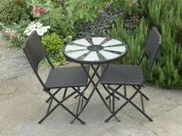 Tesco Bistro Chairs Buy Aruba Solar Table Bistro Set From Our All Garden Furniture