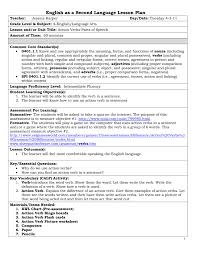 Action Linking Verbs Worksheet Action Verbs Esl Lesson Plan 1