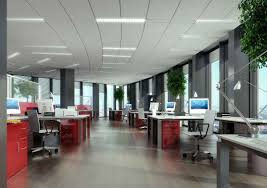 what are various types of office layouts state in brief the
