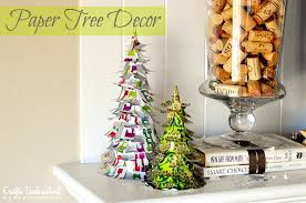 paper tree diy decorations tutorial