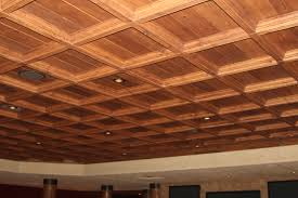 Stick On Ceiling Tiles by Interior Design Coffered Ceiling Cost With Pretty Chandelier And