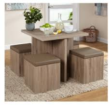 compact dining table and chairs compact dining set studio apartment storage ottomans small kitchen
