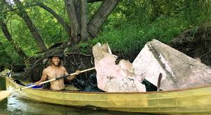 Namekagon River Map 2 Guys Have Pulled 1 157 Pounds Of Trash Out Of The Minnesota