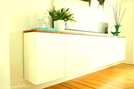 custom made cabinets diy floating sideboard photos home plan designs