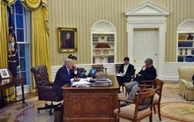 Trump Oval Office Rug Designing The White House The Trumps Pick A Decorator The