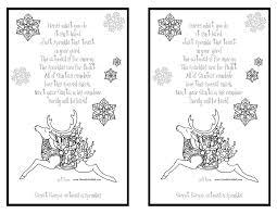 reindeer printable coloring pages reindeer food poem u0026 recipe