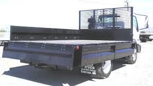 Stake Bed Truck Rental Lcf Landscape Bed