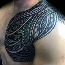 shoulder tribal tattoo 43 img pic tatooflash