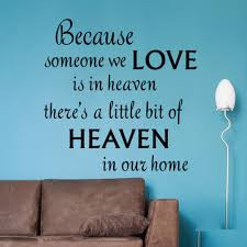 popular heaven quotes buy cheap heaven quotes lots from china love heaven in our home vinyl wall stickers quotes removable vinyl decal inspirational quotes living room