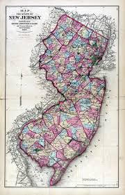 Etsy Maps New Jersey Historical Maps